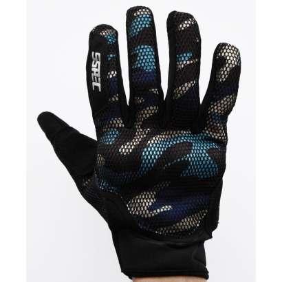Moto rukavice SSPEC 7101 militari plave