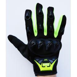 Moto rukavice SSPEC 7201 crno - zute