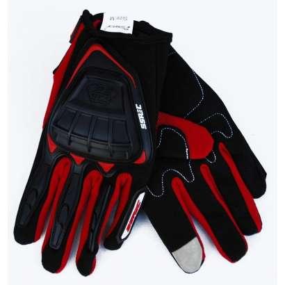 Moto rukavice SSPEC 7203 crno - crvene