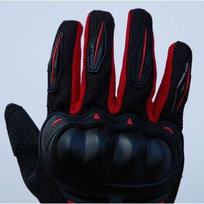 Moto rukavice SSPEC 7204 crno - crvene