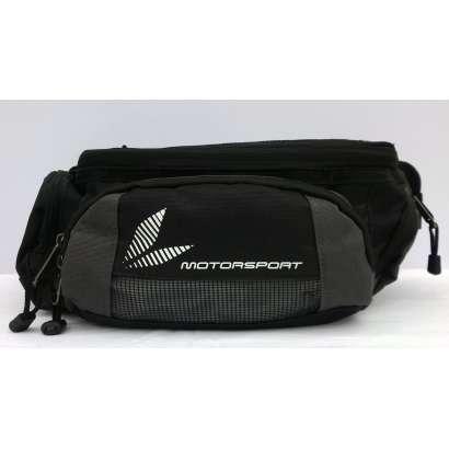 Moto torbica oko struka TAICHI crno-siva
