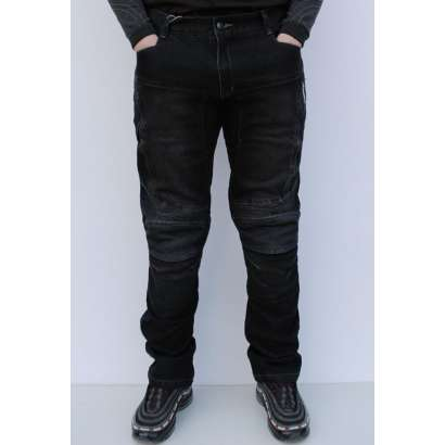 Moto jeans pantalone SSPEC 8001 crne