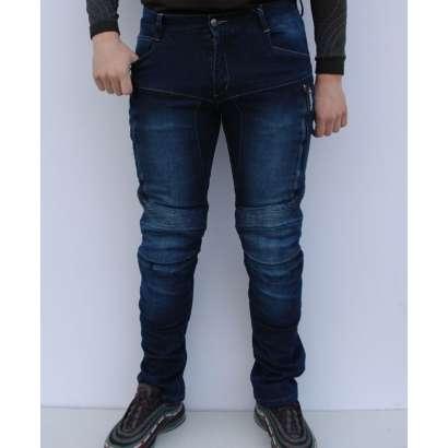 Moto jeans pantalone SSPEC 8001 teget