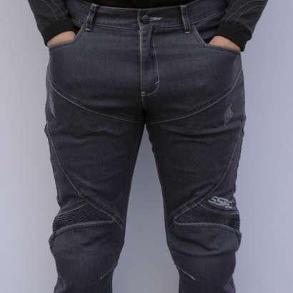Moto jeans pantalone SSPEC 8002 sive