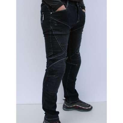 Moto jeans pantalone SSPEC 8002 crne