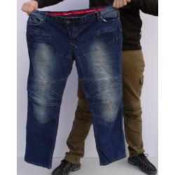 Moto pantalone EXTRA veliki brojevi KOMINE 718 jeans