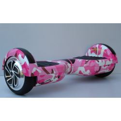 "Hoverboard sa ruckom 6.5"" bluetooth mod.7 Military roze"