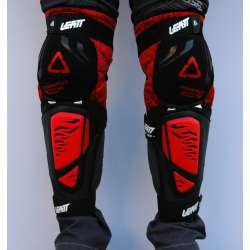 Štitnici za kolena Leatt model 3DF crveni
