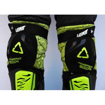 Štitnici za kolena Leatt model 3DF zeleni