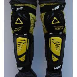 Štitnici za kolena Leatt model 3DF žuti