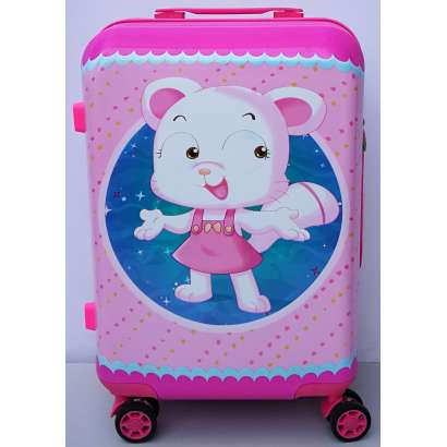N O V O HIT Deciji - tinejdžeri veliki kofer m.28 MACA ROZE