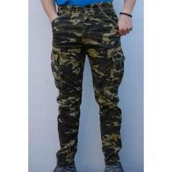 Maskirne pantalone 7217 krem