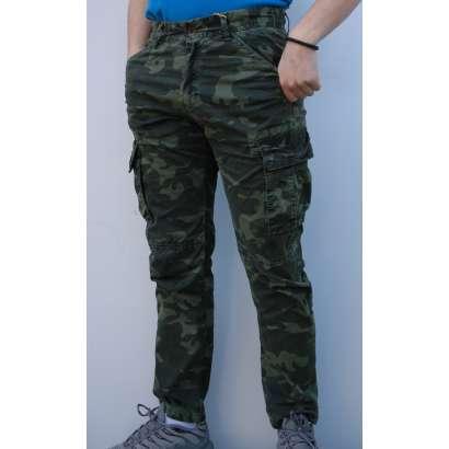 Maskirne pantalone 7217 zelene