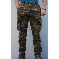 Maskirne pantalone 8701 krem