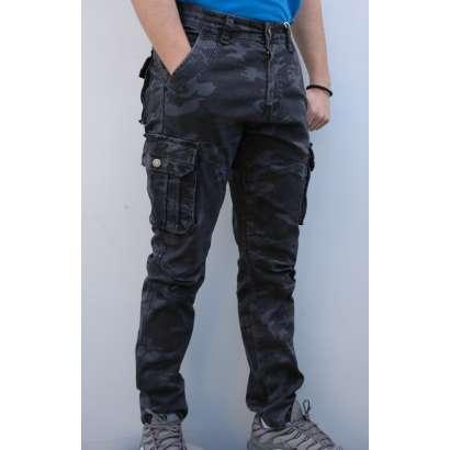 Maskirne pantalone 8701 sive