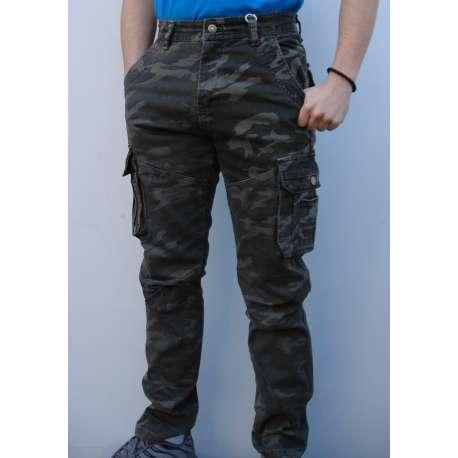Maskirne pantalone 8701 zelene