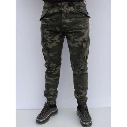 Militari pantalone 8708 pzelene
