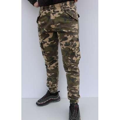 Militari pantalone 8708 krem
