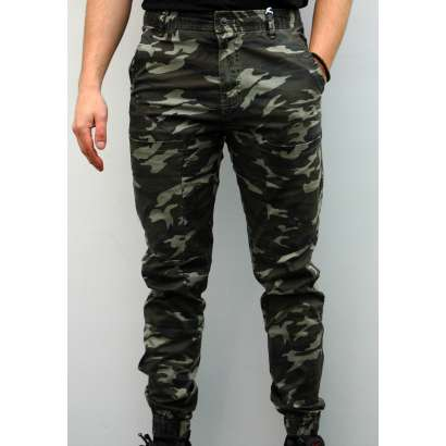 Maskirne pantalone 8720 svetlo zelene