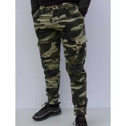 Militari pantalone 99507 krem