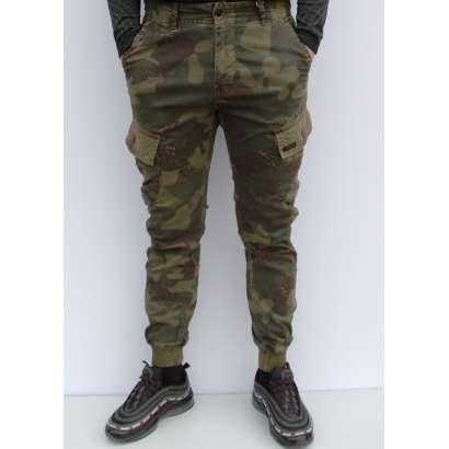 Militari pantalone 7229 krem