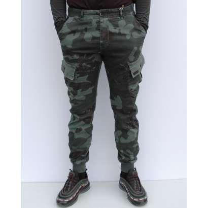 Militari pantalone 7229 siva