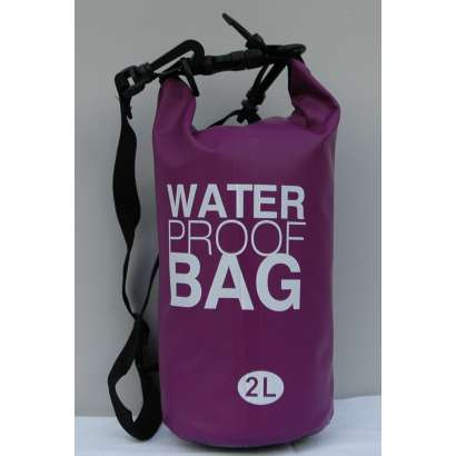 Dry bag Water proof 2 L ljubicasti