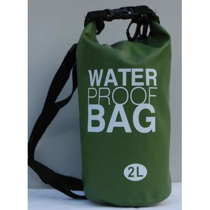 Dry bag Water proof 2 L maslinasto zeleni
