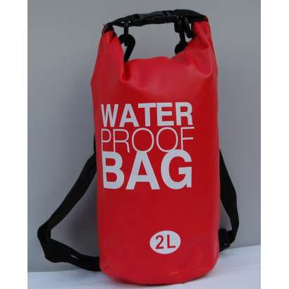 Dry bag Water proof 2 L crveni
