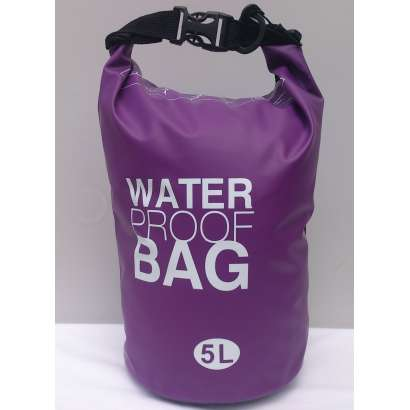Dry bag Water proof 5L ljubicasti