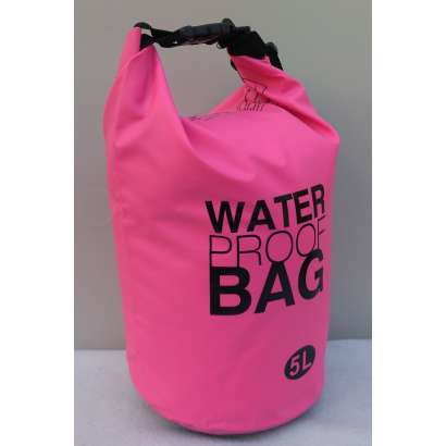 Dry bag Water proof 5L roze