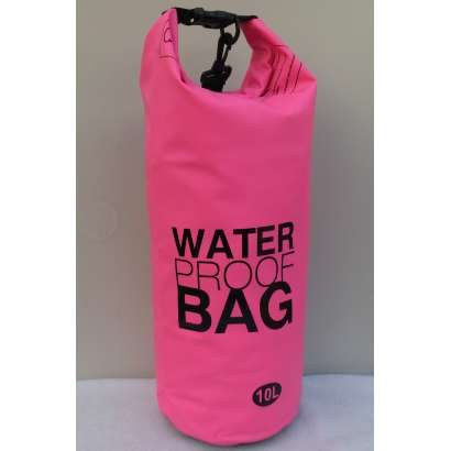 Dry bag Water proof 10L roze