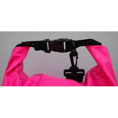 Dry bag Water proof 15 L roze
