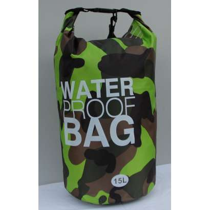 Dry bag Water proof 15 L zeleni