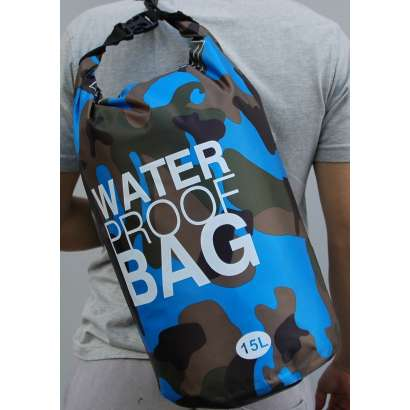 Dry bag Water proof 15 L military sv.plavi