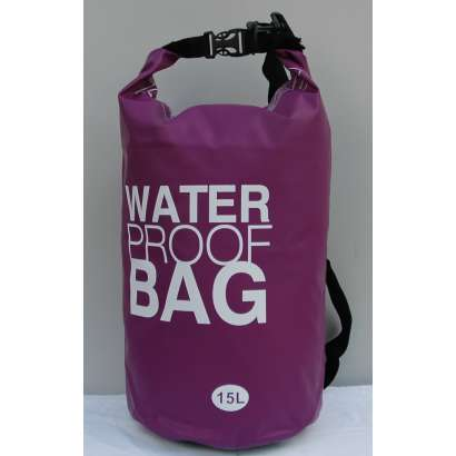 Dry bag Water proof 15 L ljubicasti