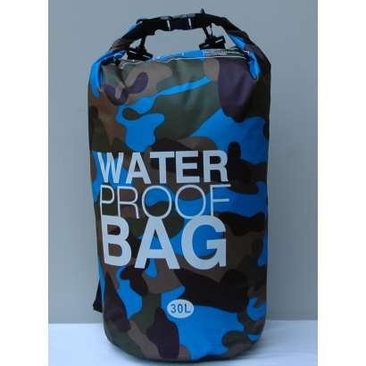 Water proof Dry bag 30L military sv.plavi
