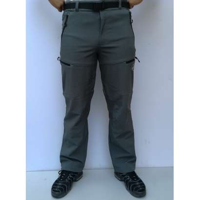 Muske windstoper pantalone Mammut 1800 sive