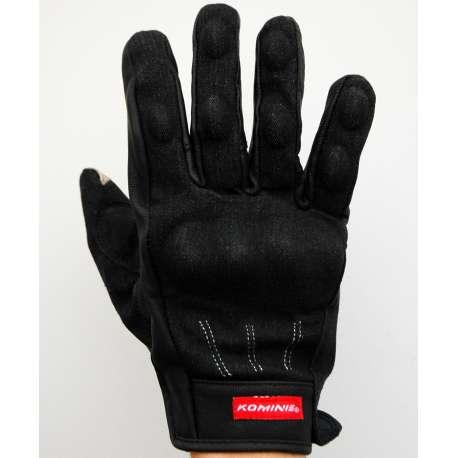 Moto rukavice Komine crne