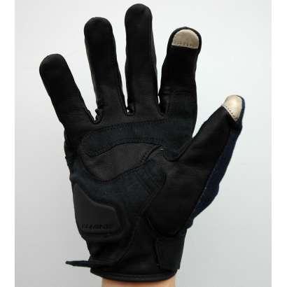Moto rukavice Komine teget