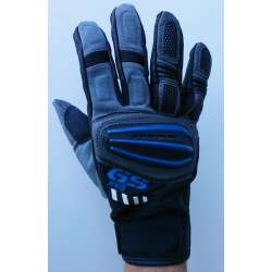 BMW RELLYE GS PRO- Moto rukavice model  3  crno -  plave