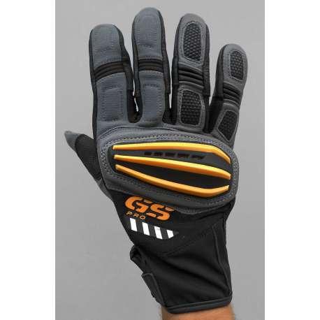 BMW RELLYE GS PRO- Moto rukavice model 4   crno -  orange