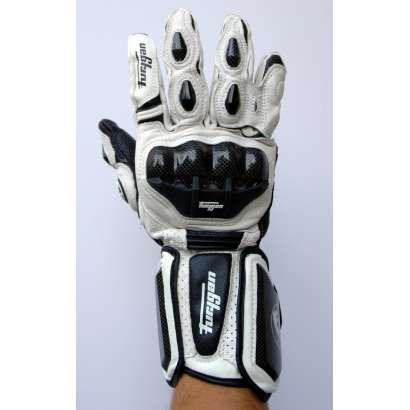Moto rukavice Furygan AFS 10 mod 1 bele