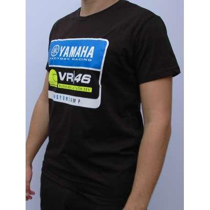 Majica VR 46 model T 920 crna   Valentino Rossi