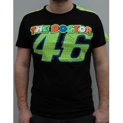 Majica VR46 model JT 003 crna   Valentino Rossi