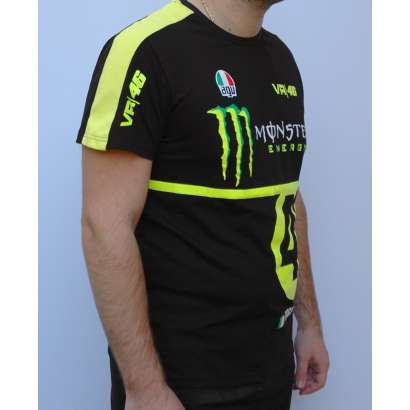 Majica VR46 T049 crna    Valentino Rossi