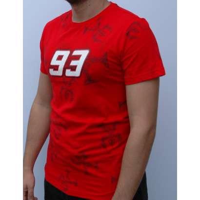 Majica Markez 93 crvena