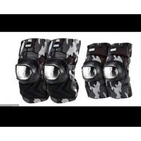 Set protektora maskirni - za kolena i lakat