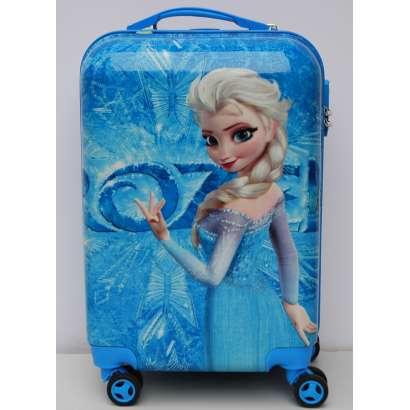 Deciji Koferi set 3u1 mod.33 Elza Frozen plavi