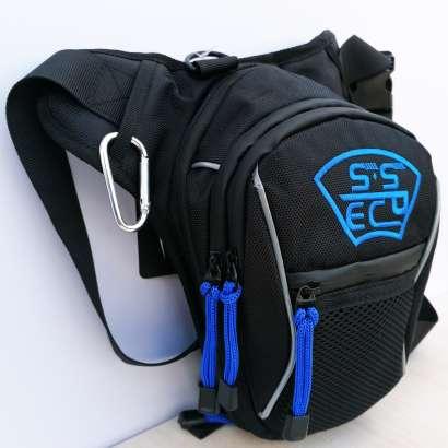 Moto torbica za butinu SSPEC vez plava slova